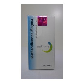 Methandienone Magma Elite Pharm 10mg/200 tab.
