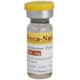Deca-Nan (Nandrolone Decanoate) by LA Pharma 3 x 200mg/ml vials