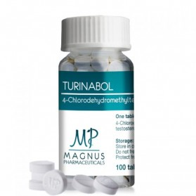 TURINABOL - 4-Chlorodehydromethyltestosterone 10mg - Magnus